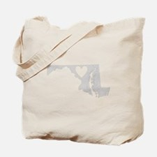 Heart Maryland Tote Bag