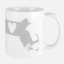 Heart Massachusetts Mug