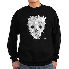 Skull flowers Jumper Sweater