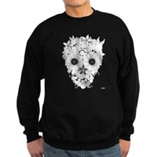 Skull flowers Sweatshirt