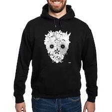 Skull flowers Hoodie