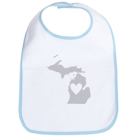 Heart Michigan Bib