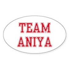 TEAM ANIKA Oval Decal