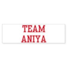 TEAM ANIKA Bumper Bumper Sticker