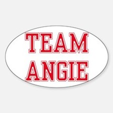 TEAM ANGIE Oval Decal