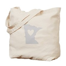 Heart Minnesota Tote Bag