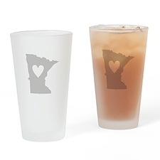 Heart Minnesota Drinking Glass