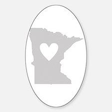 Heart Minnesota Decal