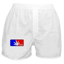 weed sports logo Boxer Shorts