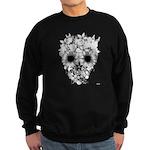Skull flowers Sweatshirt