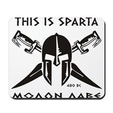 This is Sparta Mousepad