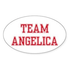 TEAM ANGELICA Oval Decal