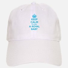 Keep calm its only a royal baby Baseball Baseball Cap