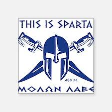 This is Sparta (blue) Sticker