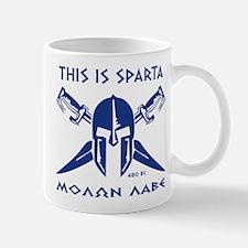 This is Sparta (blue) Mug