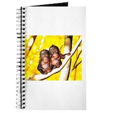 Unique Cute monkey Journal