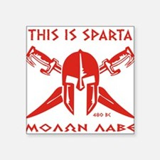 This is Sparta (Red) Sticker