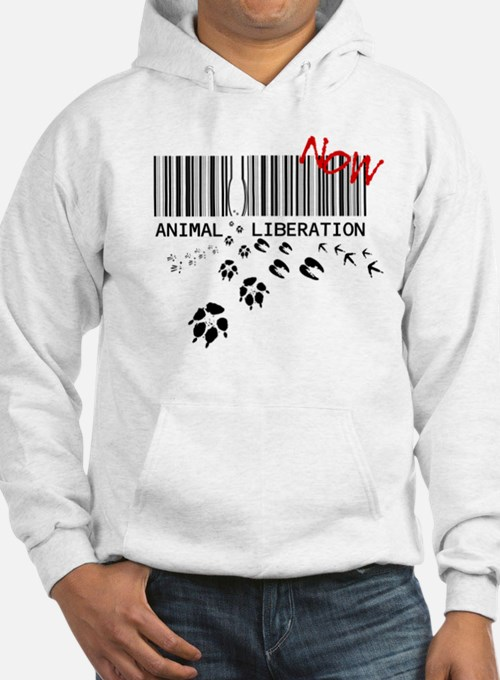 animal liberation...NOW Hoodie