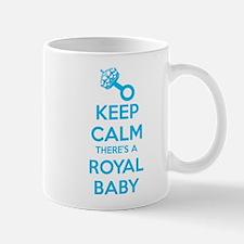 Keep calm there's a royal baby Mug