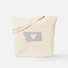 Heart Montana Tote Bag