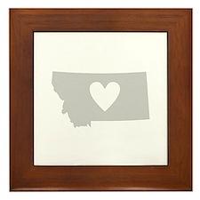 Heart Montana Framed Tile