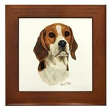 Beagle Framed Tiles