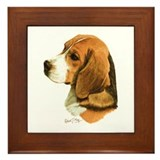 Beagle Framed Tiles