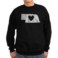 Heart Nebraska Sweatshirt