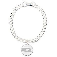 Heart Nebraska Bracelet
