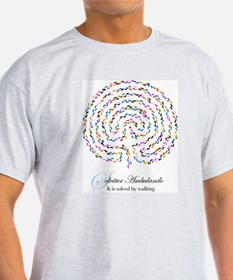 Labyrinth by Nancy Vala T-Shirt