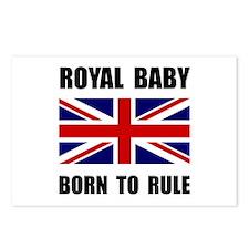 Royal Baby Rule Postcards (Package of 8)
