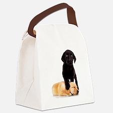 Labrador Playmates Canvas Lunch Bag