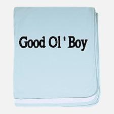 GOOD OL BOY baby blanket