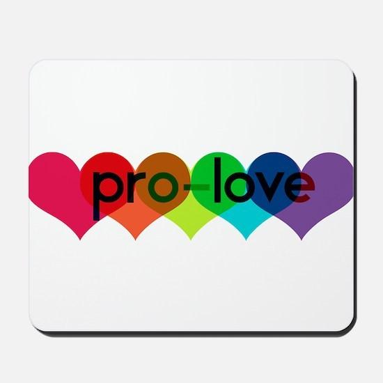 Pro-LOVE Mousepad