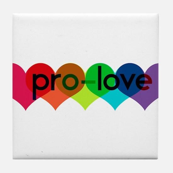 Pro-LOVE Tile Coaster