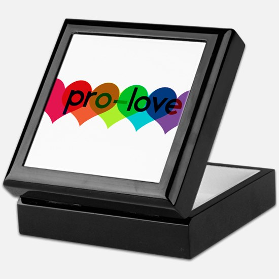 Pro-LOVE Keepsake Box