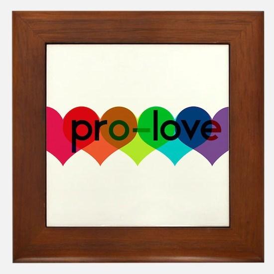 Pro-LOVE Framed Tile