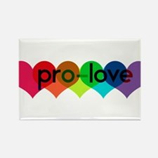 Pro-LOVE Rectangle Magnet
