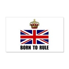 Royal Crown Rule Wall Decal