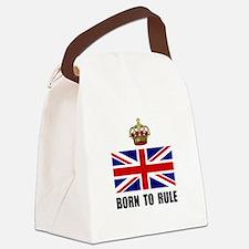 Royal Crown Rule Canvas Lunch Bag