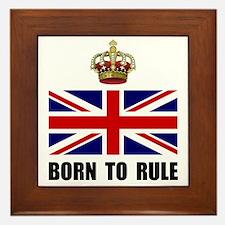 Royal Crown Rule Framed Tile