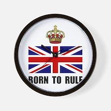 Royal Crown Rule Wall Clock