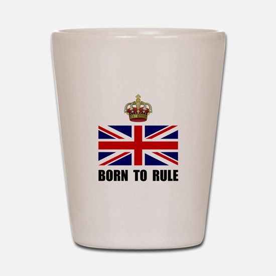 Royal Crown Rule Shot Glass