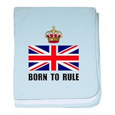 Royal Crown Rule baby blanket