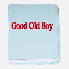 GOOD OLD BOY baby blanket