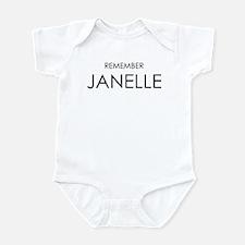 Remember Janelle Infant Bodysuit