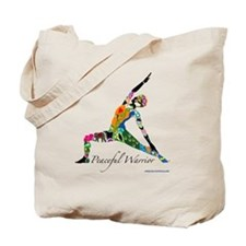 Peaceful Warrior by Nancy Vala Tote Bag