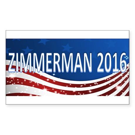 George Zimmerman 2016 Sticker