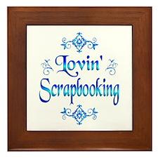 Lovin Scrapbooking Framed Tile