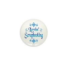 Lovin Scrapbooking Mini Button (10 pack)